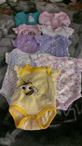 Girls Newborn Lot