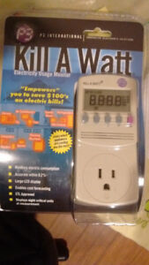 Kill A Watt (Electricity Usage Monitor) (BRAND NEW)