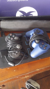 Playstation 2 Fat w/ controllers and games