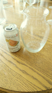 Glass ware and Vases Martini' glasses