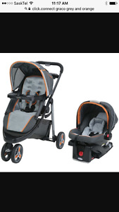 Grace click connect travel system
