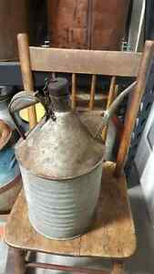 Antique CPR water / oil can