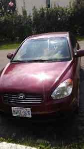 2008 Hyundai accent GLS for parts only read ad before replying