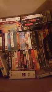 Vhs tapes and scarecrow (light up)