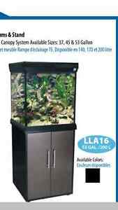 60 gl square fish tank and Stand