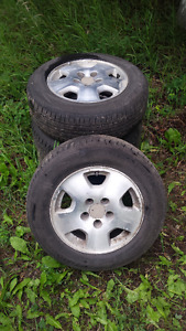 205/65/15 Honda rims and tires