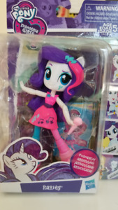 mini poupee pouliche equestria girls/ my little pony