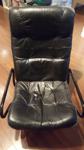Faux Leather Recline Chair