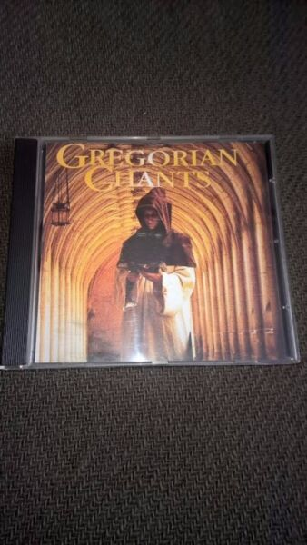 CD Gregorian Chants