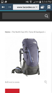 Northface 40L Backpack