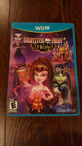 Monster High 13 Wishes Nintendo Wii U