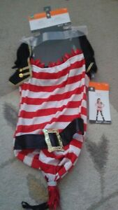 Halloween Costumes Pirate and Witch New With Tags