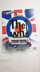 HOT WHEELS SMOKIN GRILLE THE WHO POP CULTURE DIECAST W/RR