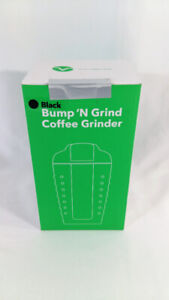 [SEALED] Vremi Bump 'n Grind Coffee Bean Grinder Black