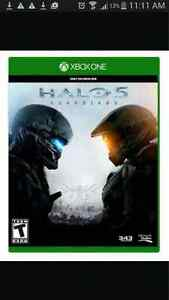 Halo 5 for xbox one.