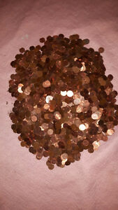 3,170 PENNIES FROM HEAVEN. A COLLECTORS FUTURE GOLD MINE London Ontario image 3