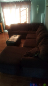 SOLD  3 Piece Sectional