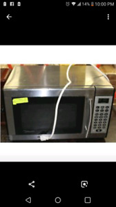 Stainless stell microwave