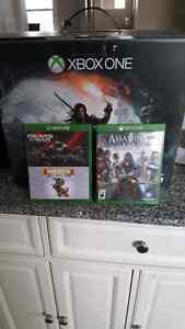 Selling 1TB Xbox one with 3 games  Windsor Region Ontario image 1