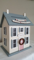 Vintage House Card / Money box for your Wedding or Bridal Shower
