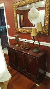 Dinning room chest only for $99.  (48 Length   , 30 Height,