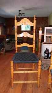 6 wooden ladder back chairs Peterborough Peterborough Area image 1