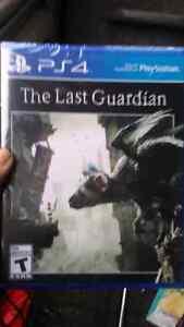Last Guardian ps4 unopened