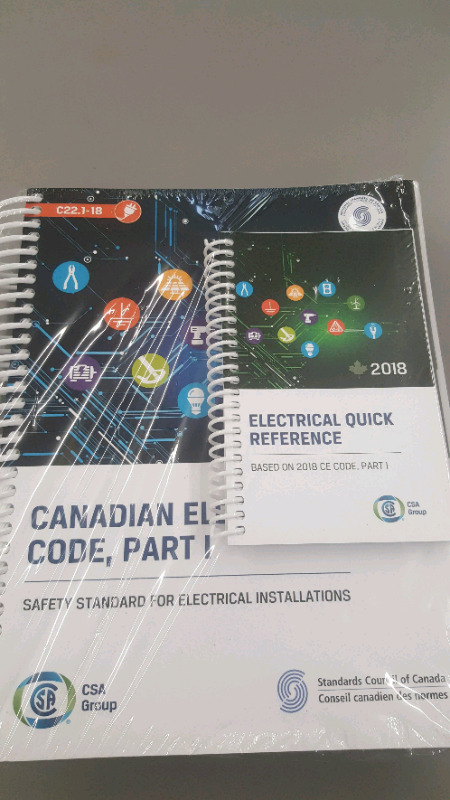 canadian electrical code 2018 | Textbooks | Mississauga / Peel ...