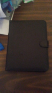 Black Tablet case with keyboard