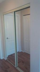 Free sliding mirror closet doors (White Rock)