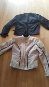 Manteau de moto pour femme