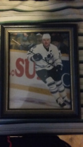 Framed Matt Sundin Photo