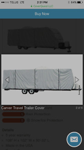 32' travel trailer cover