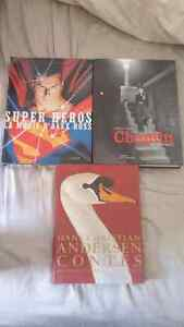 3 gros livres / coffee table books