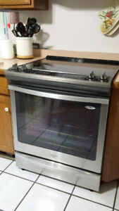 Slide in Electric Range - Stainless Steel