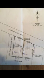 Road front land for sale