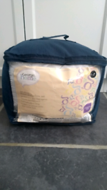 NEW Anti allergy duvet and pillow set for cot bed/junior bed.