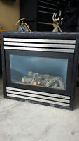 """***Montego Gas Fireplace - 34"""" - Great Condition***"""