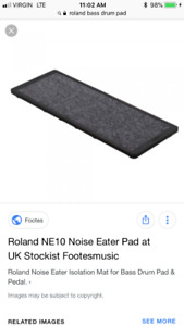 Roland noise eater pad