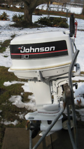 Johnson 30HP Outboard  Engine  88