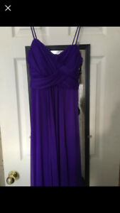 Long Purple Prom dress!