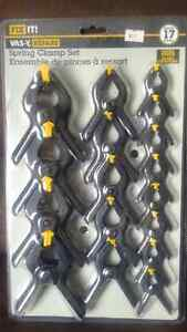 Brand New Spring Clamp Set