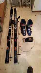 Skis/Bindings/Boots/Poles/Tote