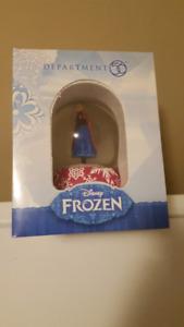 """Department 56 Disney Frozen - """"Anna Water Globe"""" - Brand New"""