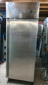 Commercial 700 litres upright chiller stainless steel fully working