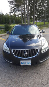 2012 BUICK REGAL W/ PW, PL, LEATHER, AND CERT/E-TEST