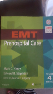 EMT text book for sale