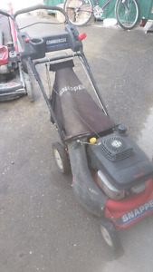 Assorted lawn equipment in as is where is condition