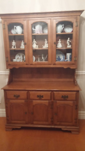 Buffet and Hutch - Solid Maple