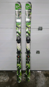 Rossignol twin tip skis